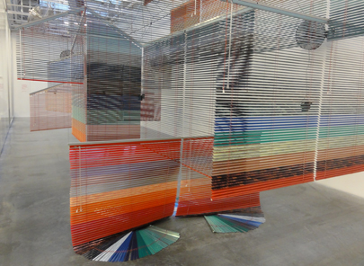 voice and wind by haegue yang // image by s. keefer of the shade store // at the new museum