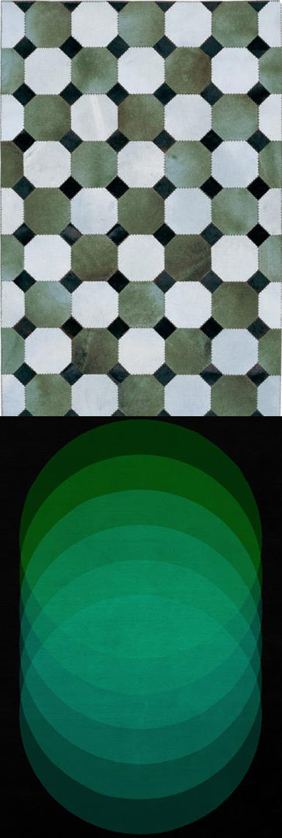 Peapod Pantone, via The Rug Company