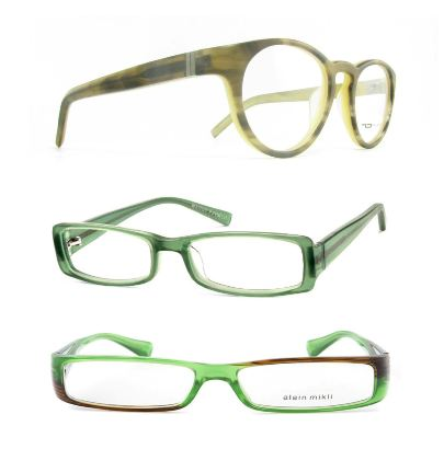Green Shades, including Tom Davies, Warby Parker, and Alain Mikli