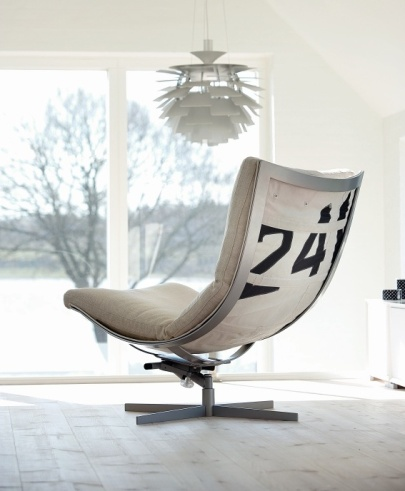 Spinnaker Chair from Norwegian brand Hødnebø