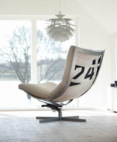 Spinnaker Chair from Norwegian brand Hødnebø