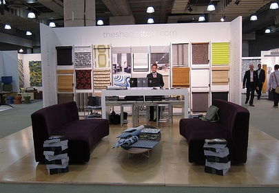 The Shade Store Booth at ICFF