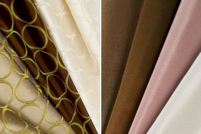 Silk Window Treatments from the shade store