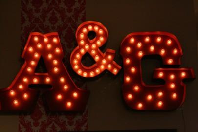 A&G Merch signage