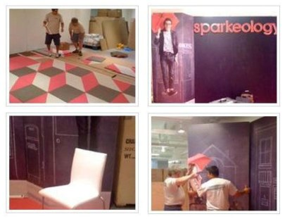 Sparkeology's preparation - Seen at NeoCon