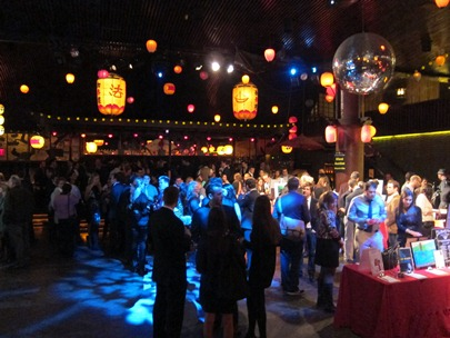 The crowd at the Hiro Ballroom, for ArtWorks