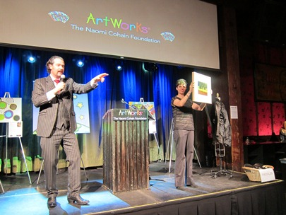 Auctioneer Nicholas D. Lowry at ArtWorks