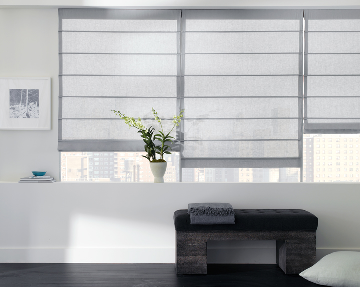 Energy Efficient Window Treatments, Roman Shades