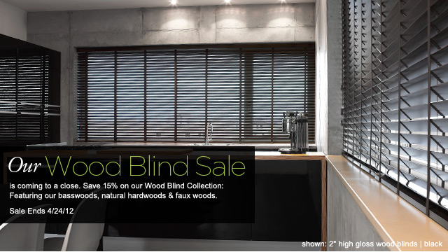 Wood Blinds Sale at The Shade Store