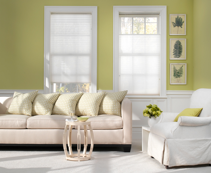 Cellular Shades from The Shade Store - Summer Whites