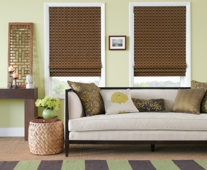 Roman Shades from The Shade Store