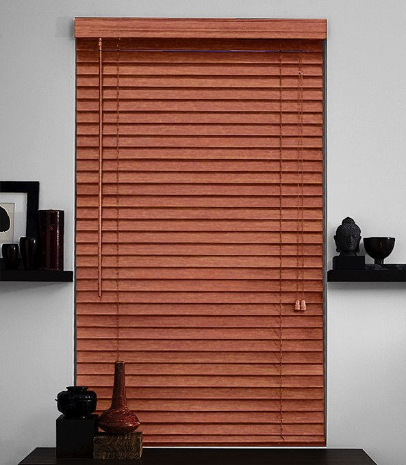 Wood Blinds from The Shade Store