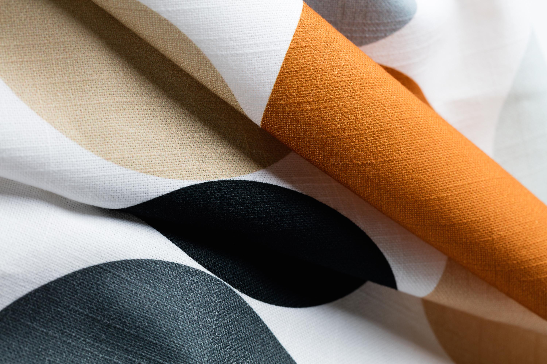 Colored Dots by The Novogratz - a simple yet elegant pattern.