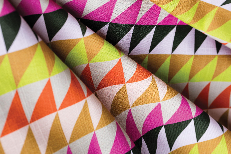 Indian Summer by The Novogratz - a modern geometric jaw-dropper.