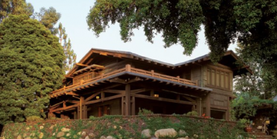 The Gamble House; courtesy of Alex Vertikoff.
