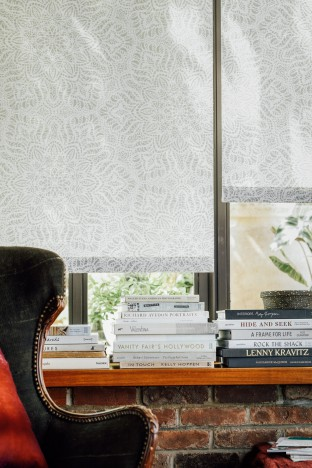 Windows to Read By - Lotus Roller Shades