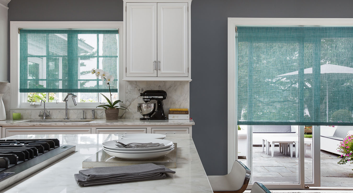 Kitchen Window Practical Beautiful Kitchen Window Treatments The Shade Store