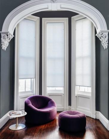 cellular shades bay window treatments