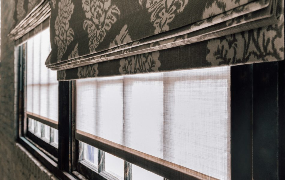 How to Layer Window Treatment Textures