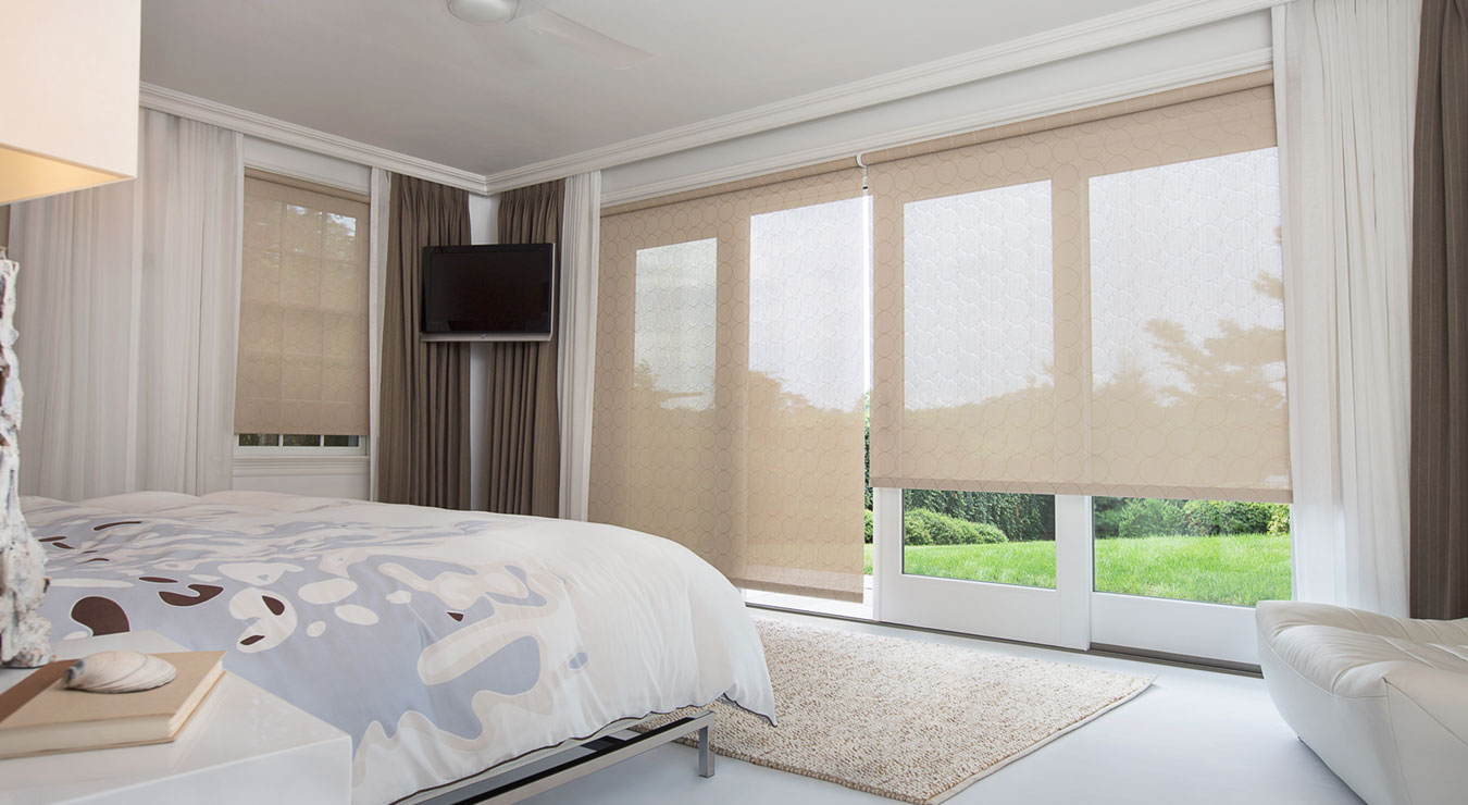 Window treatments for sliding glass doors the shade store window treatments for sliding glass doors eventelaan Images