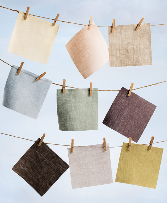 linen swatches the shade store