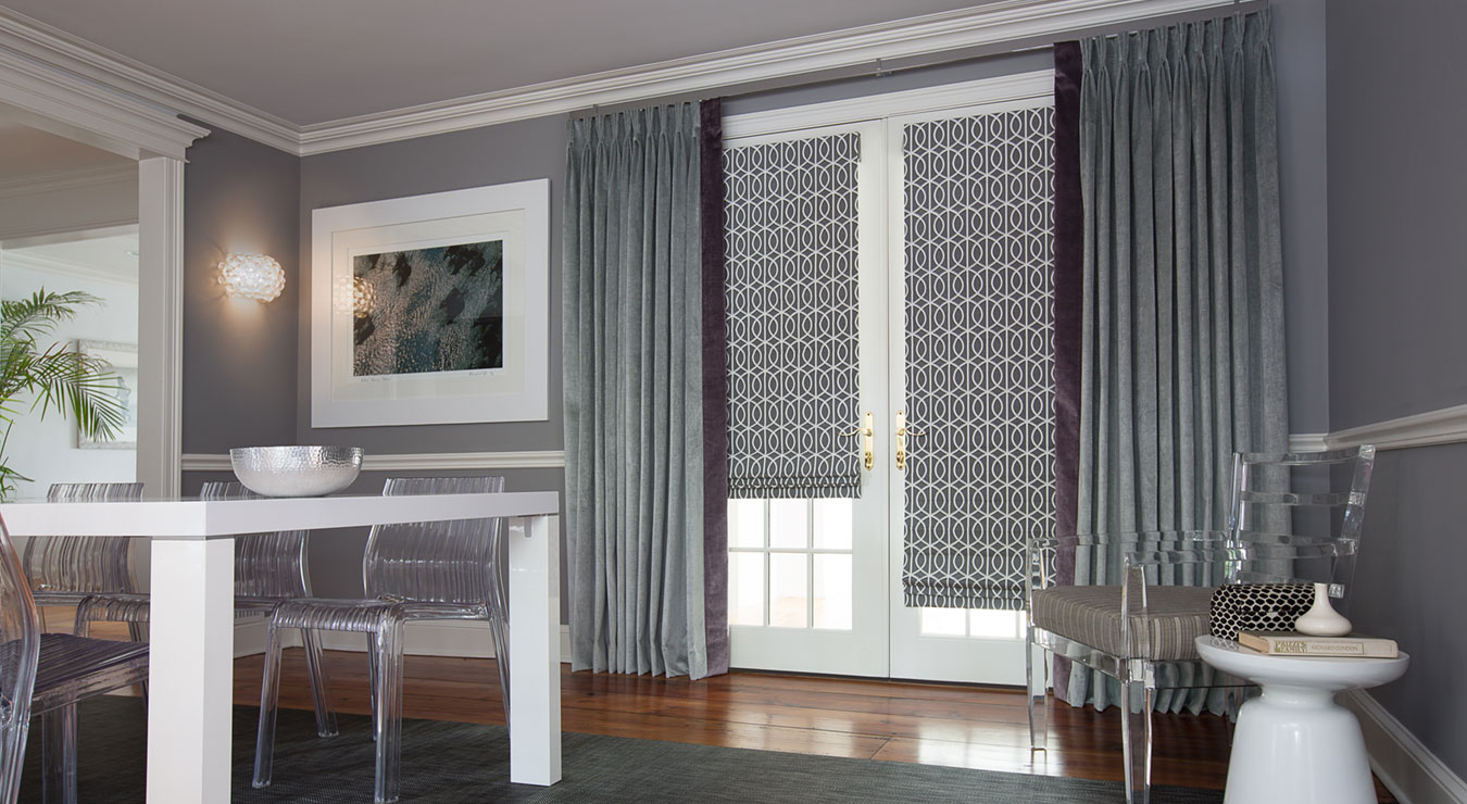 Window treatments for the transitional style home the for What is a window treatment