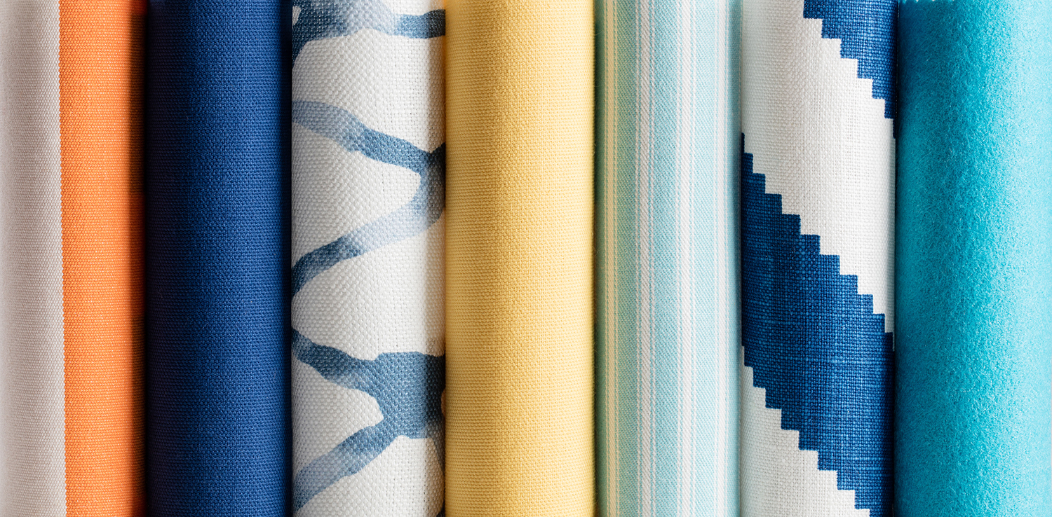 Coastal Window Treatment Colors and Textures