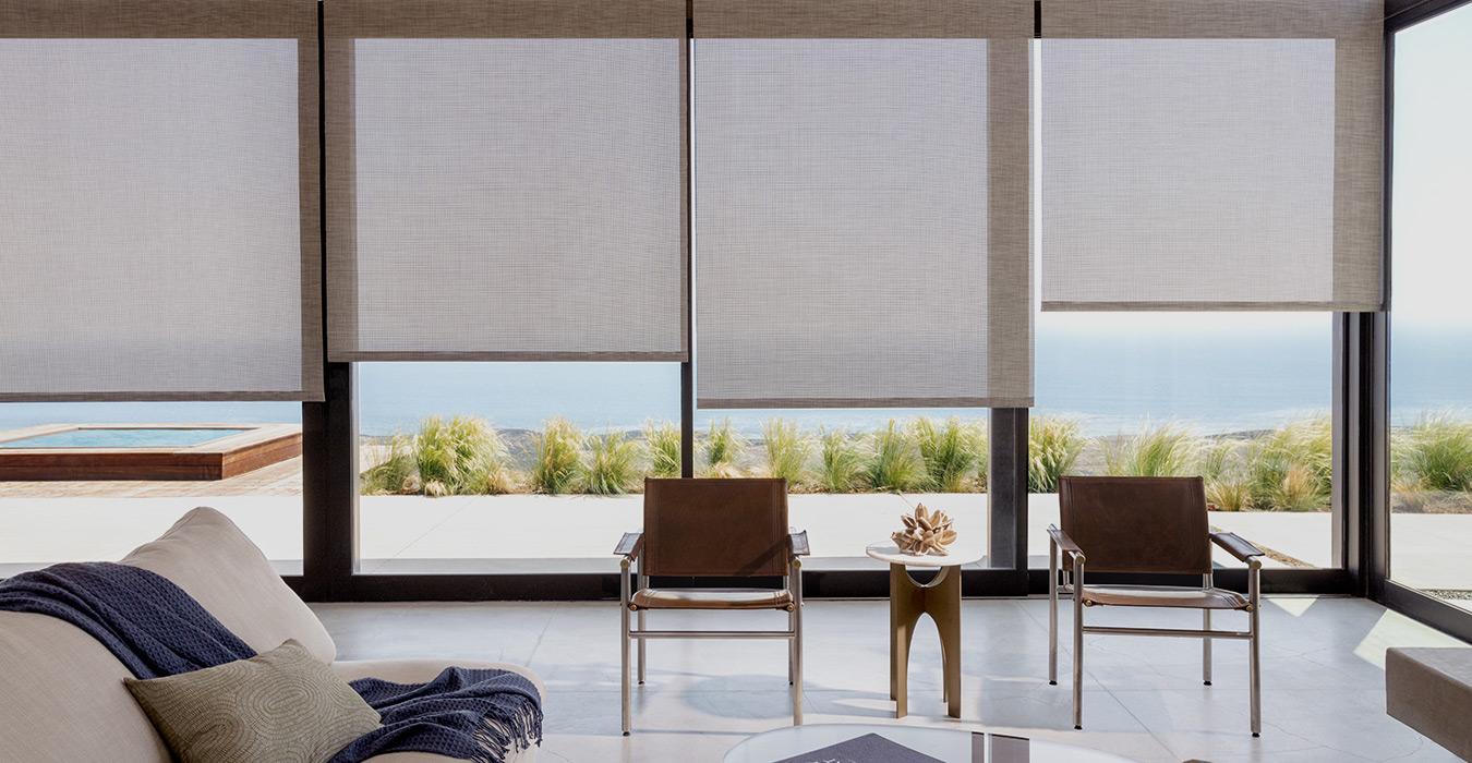 Coastal Window Treatments Style Inspiration The Shade Store