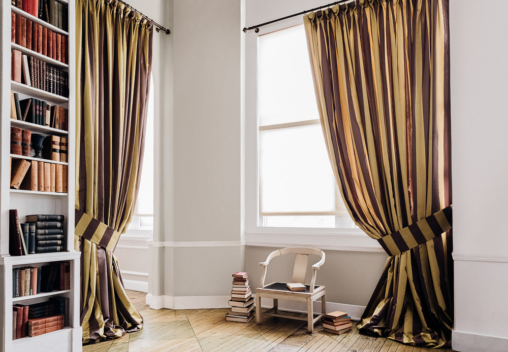 goblet drapes decorative drapery pleats