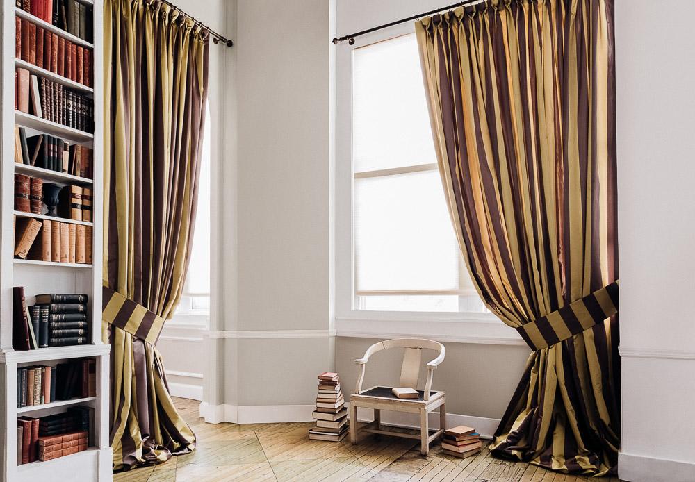 goblet drapes decorative drapery pleats