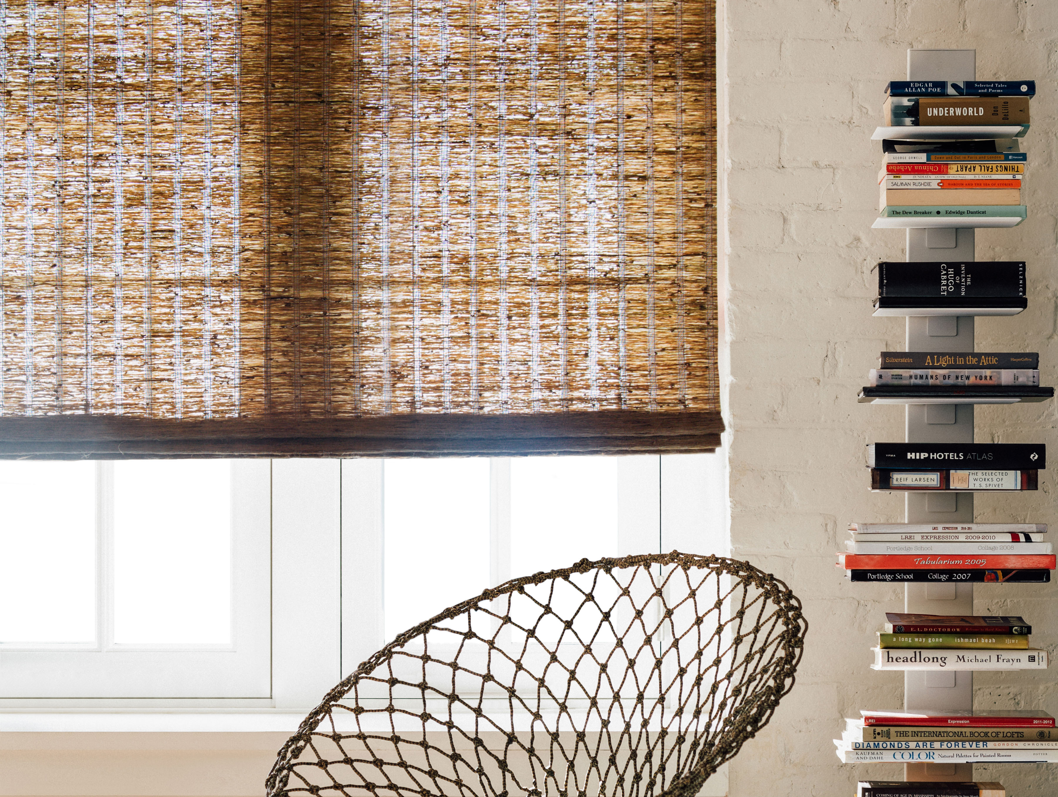 Cascade woven wood shades archives the shade store for Natural woven flat fold shades