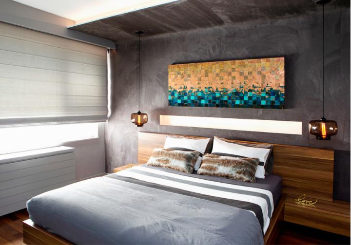 roman shades bedroom