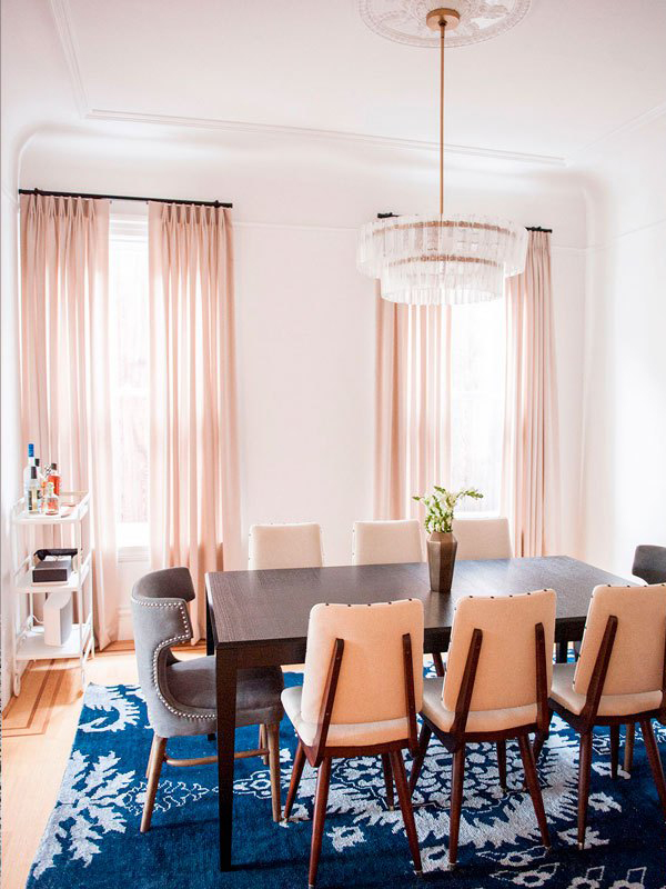 a design lifestyle pink drapes