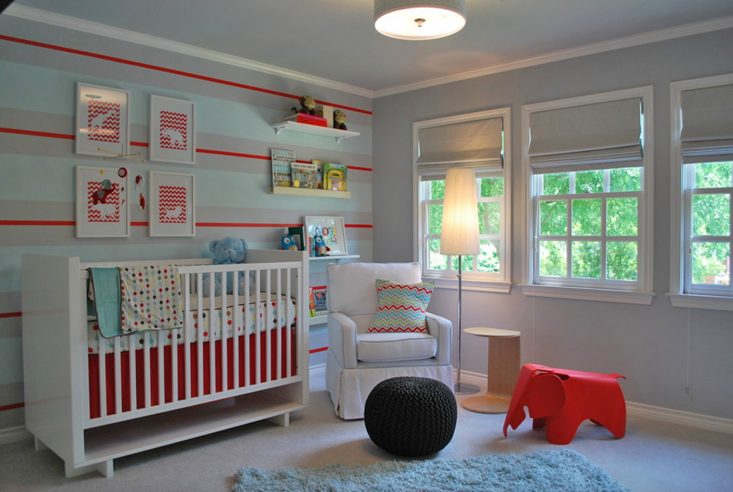 how to treat nursery windows lilli design