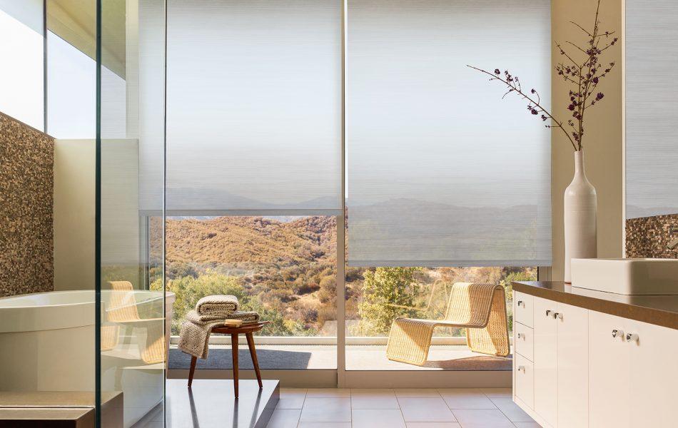 Beautiful Bathroom Window Treatments