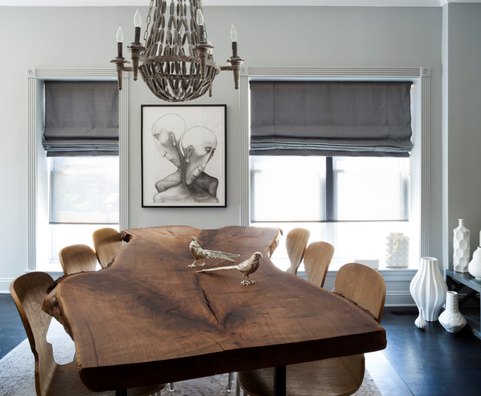 Trendsetting Dining Room Shades The Shade Store