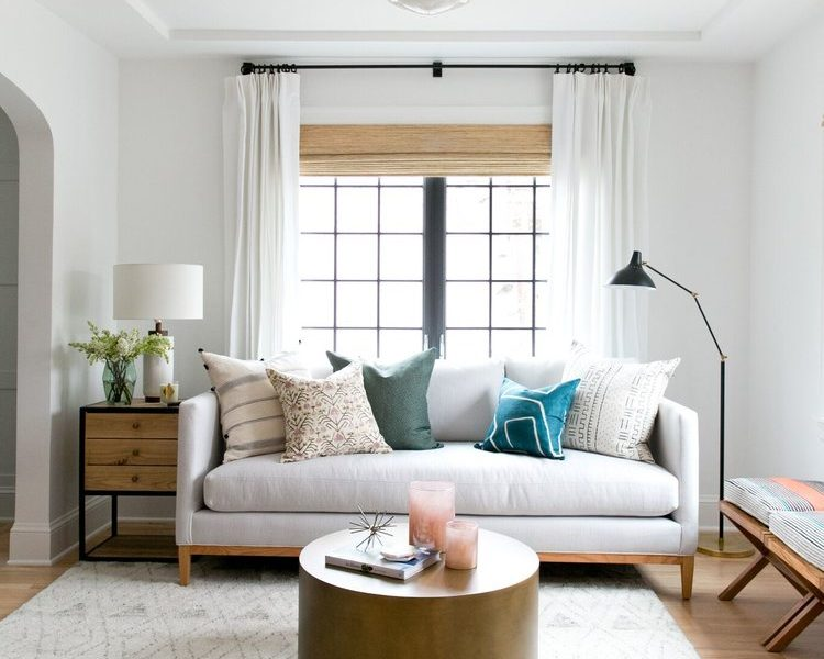 How to Mix and Match Window Treatments