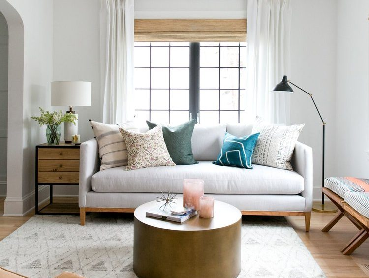 mix and match window treatments textures