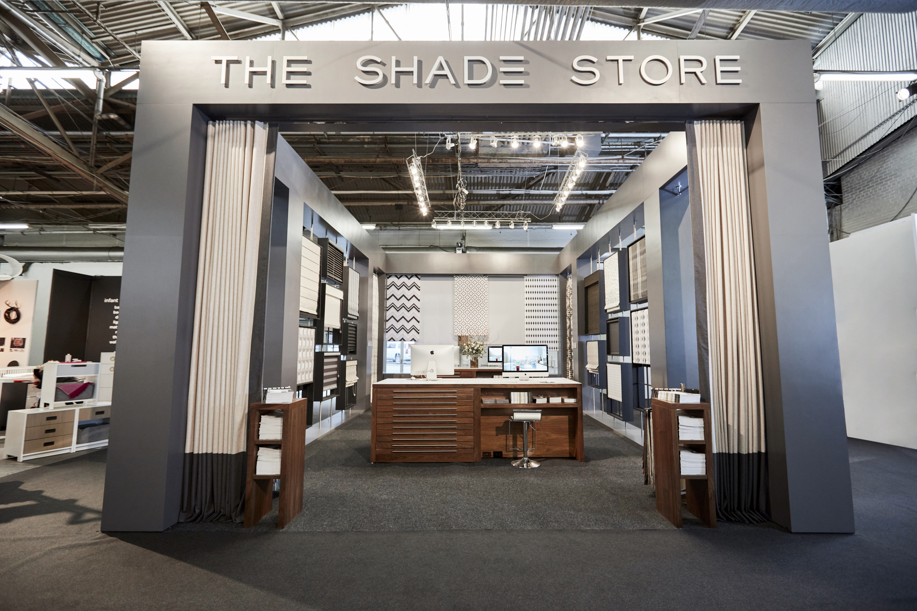The Shade Store Booth - AD Design Show 2018