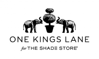 One Kings Lane for The Shade Store Logo