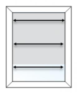 inside mount width measurement