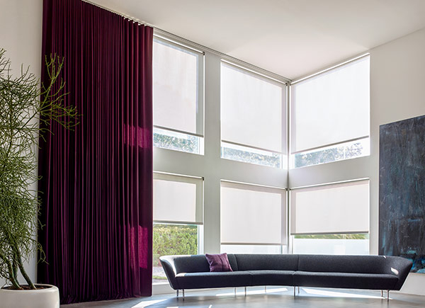 Window Treatments For Tall Windows The Shade Store