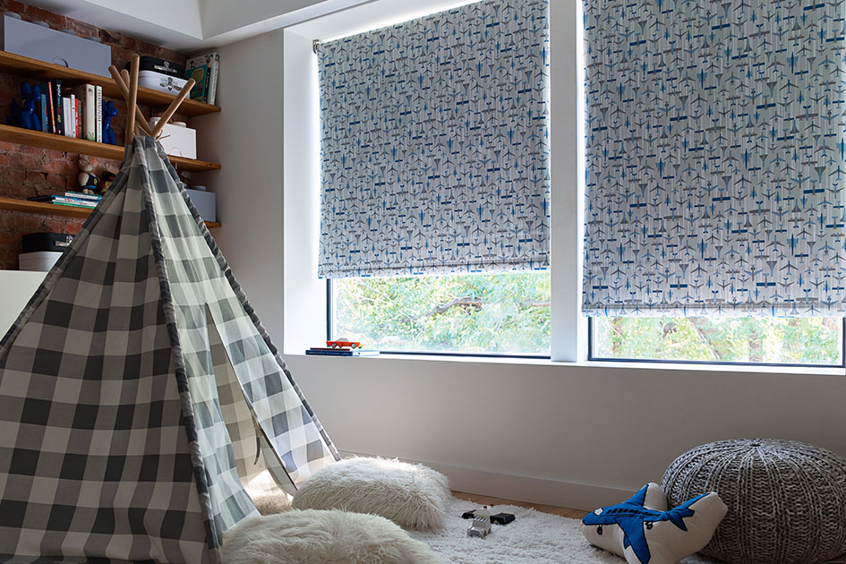 Cordless Roller Shade for Kids