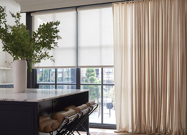 Sunbrella window treatments
