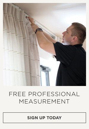 Free Window Treatment Measurements and Installation