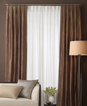 Inverted Pleat Curtain