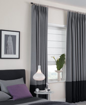 Tailored Pleat Curtain