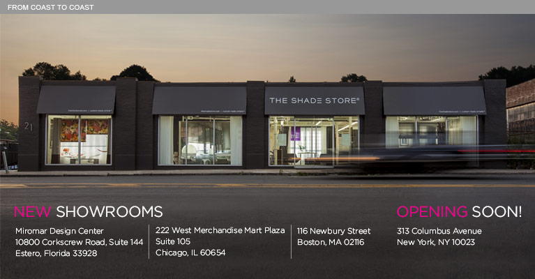 The Shade Store Showrooms